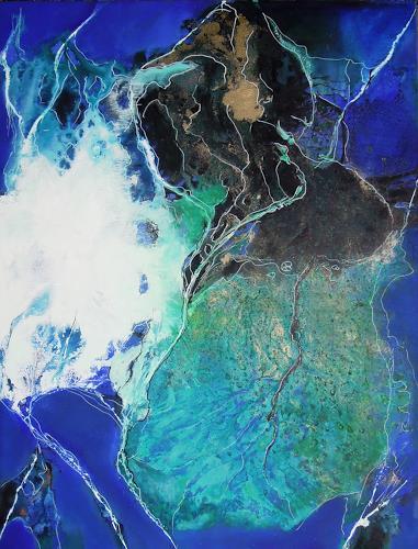 Ursula Venosta, Serie Liberado IV, Abstraktes, Action Painting, Expressionismus