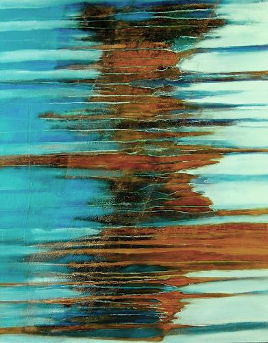 Ursula Venosta, Endless Ocean, Natur: Wasser, expressiver Realismus
