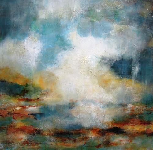 Ursula Venosta, Wird es regnen?, Natur, Gegenwartskunst, Expressionismus