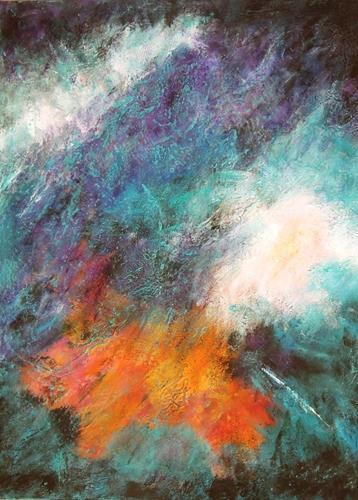 Ursula Venosta, Freude, Gefühle: Freude, Abstrakter Expressionismus