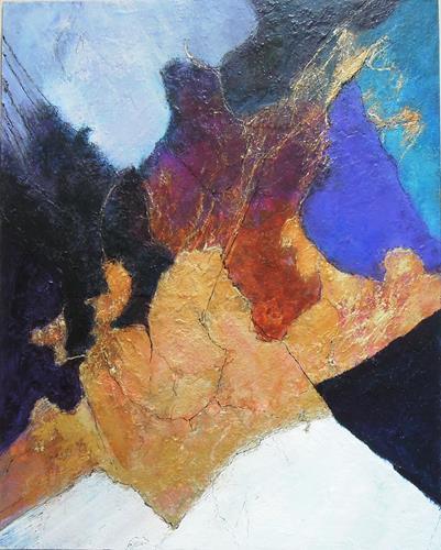 Ursula Venosta, Die innere Kraft, Gefühle: Freude, Abstrakter Expressionismus