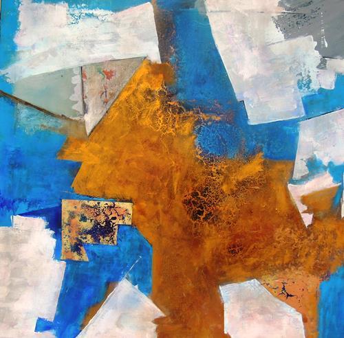 Ursula Venosta, Ich habe es gefunden, Abstraktes, Fantasie, Abstrakter Expressionismus