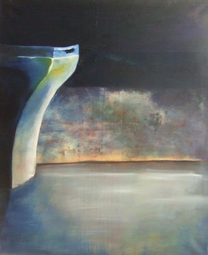 Klaus Behncke, Meer der Ruhe, Diverse Gefühle, Landschaft: See/Meer, Gegenwartskunst, Expressionismus