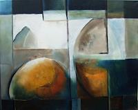 Klaus-Behncke-Abstraktes-Weltraum-Gestirne-Gegenwartskunst--Gegenwartskunst-