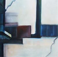 Klaus-Behncke-Abstraktes-Symbol-Gegenwartskunst--Gegenwartskunst-