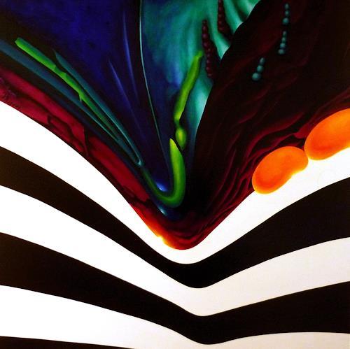 Annemarie Reckling, Schwerkraft, Abstraktes, Symbol, Gegenwartskunst, Abstrakter Expressionismus