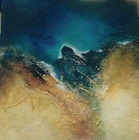 ingeborg-zinn-Landschaft-Abstraktes-Moderne-Expressionismus-Abstrakter-Expressionismus