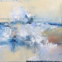 ingeborg-zinn-Landschaft-See-Meer-Diverses-Moderne-Expressionismus-Abstrakter-Expressionismus