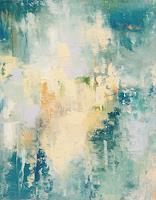 ingeborg-zinn-Abstraktes-Landschaft-See-Meer-Moderne-Expressionismus-Abstrakter-Expressionismus