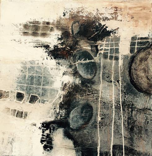 ingeborg zinn, Angst vorm Fliegen, Abstraktes, Dekoratives, Abstrakter Expressionismus