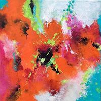 ingeborg-zinn-Abstraktes-Abstraktes-Moderne-Expressionismus-Abstrakter-Expressionismus