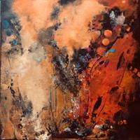 ingeborg-zinn-Abstraktes-Landschaft-Moderne-Expressionismus-Abstrakter-Expressionismus
