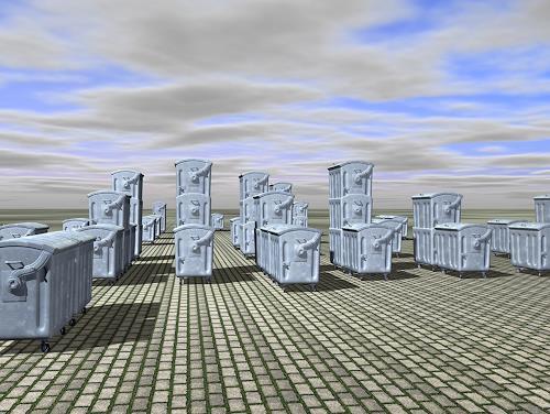 Slav Nedev, Biotope II, Architektur, Fantasie, Gegenwartskunst