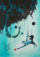 Ute-Bescht-Menschen-Mann-Fantasie-Gegenwartskunst-Postsurrealismus
