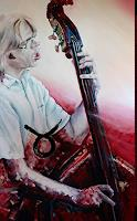 Ute-Bescht-Musik-Musiker-Menschen-Portraet-Moderne-expressiver-Realismus