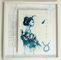 Ute-Bescht-Menschen-Frau-Diverse-Gefuehle-Moderne-Avantgarde-Surrealismus