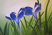Daniela-Boeker-Pflanzen-Blumen-Landschaft-Fruehling-Moderne-Naturalismus