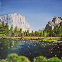 Daniela-Boeker-Landschaft-Berge-Natur-Wasser-Moderne-Naturalismus