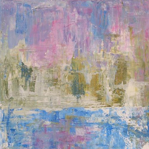 Daniela Böker, Winterfarben, Abstraktes, Landschaft: Winter, Abstrakte Kunst