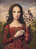V. Francisco, A girl with bird