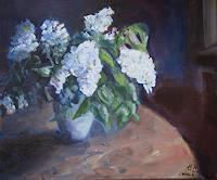 Ellen-Fasthuber-Huemer-Pflanzen-Blumen-Moderne-Impressionismus-Postimpressionismus