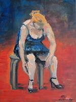 Ellen-Fasthuber-Huemer-Menschen-Frau-Moderne-Impressionismus-Postimpressionismus