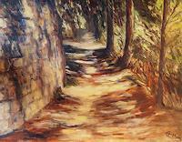 Ellen-Fasthuber-Huemer-Landschaft-Sommer-Natur-Diverse-Moderne-Impressionismus-Postimpressionismus