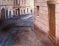Ellen-Fasthuber-Huemer-Diverse-Bauten-Moderne-Impressionismus-Postimpressionismus