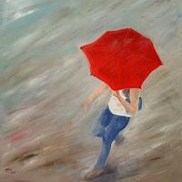 Ellen-Fasthuber-Huemer-Menschen-Frau-Bewegung-Moderne-Impressionismus-Postimpressionismus