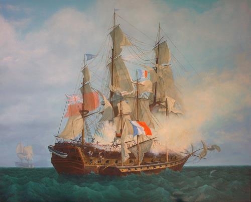 Peter Kempf, Seeschlacht, Krieg, Historismus