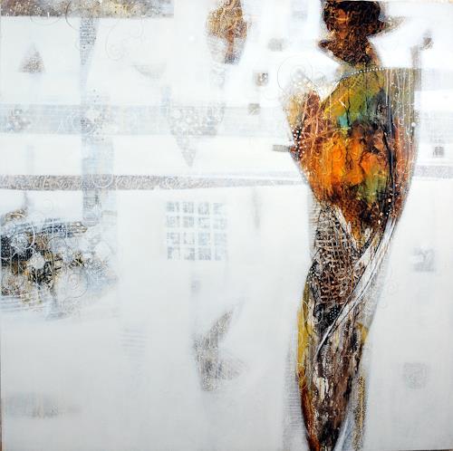 zaman Jassim, O/T, Abstraktes, Neuzeit, Abstrakter Expressionismus