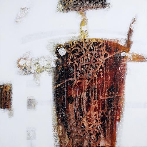 zaman Jassim, Reflection, Abstraktes, Andere, Abstrakter Expressionismus