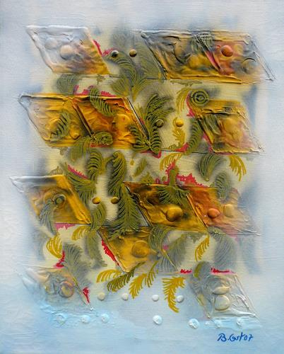 Bernhard Ost, Flying visions, Abstraktes, Gegenwartskunst