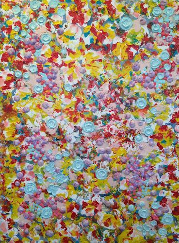 Bernhard Ost, Abstrakte Blumen, Diverses, Neuzeit