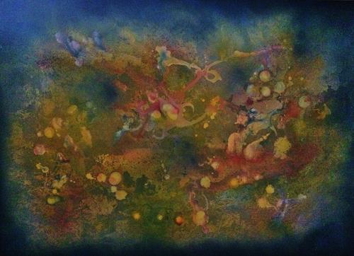 Bernhard Ost, Lebe Deine Träume, Abstraktes, Gegenwartskunst