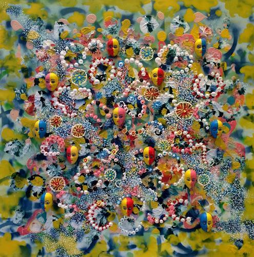 Bernhard Ost, Momente, Fantasie, Mythologie, Gegenwartskunst, Expressionismus
