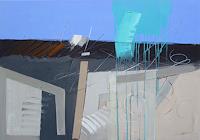 Ernest-Hiltenbrand-Abstraktes-Moderne-Abstrakte-Kunst-Informel