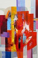 Ernest-Hiltenbrand-Menschen-Abstraktes-Moderne-Abstrakte-Kunst