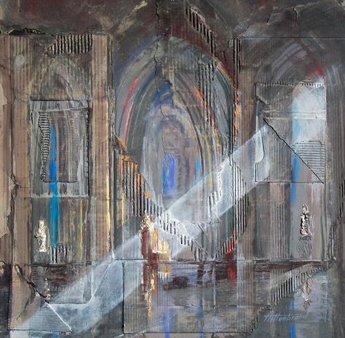 Ernest Hiltenbrand, Nef centrale, Bauten: Kirchen, Expressionismus, Abstrakter Expressionismus