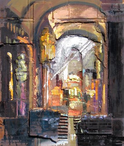 Ernest Hiltenbrand, le choeur, Bauten: Kirchen, Architektur, Expressionismus, Abstrakter Expressionismus