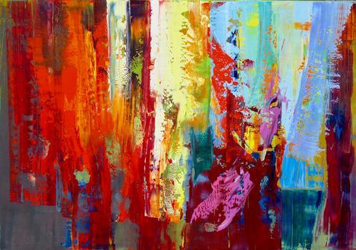 Ernest Hiltenbrand, Présage, Abstraktes, Abstraktes, Abstrakte Kunst