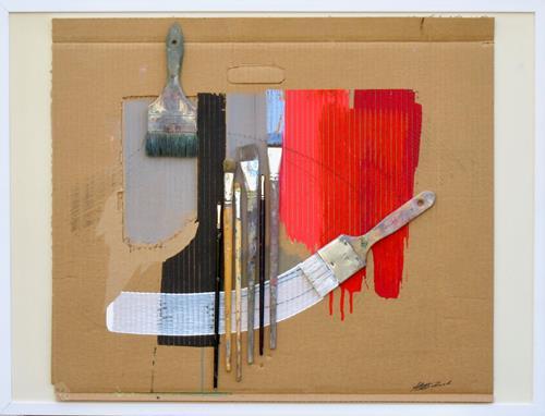 Ernest Hiltenbrand, Finissage, Arbeitswelt, Informel, Expressionismus