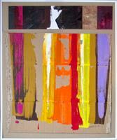 Ernest-Hiltenbrand-Abstraktes-Fantasie-Moderne-Abstrakte-Kunst-Informel