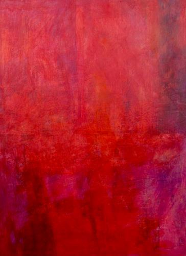Ernest Hiltenbrand, Le crépuscule des dieux, Abstraktes, Mythologie, Colour Field Painting