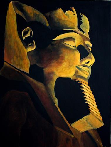 Anka Hubrich, Ramses II, Diverse Bauten, Fotorealismus