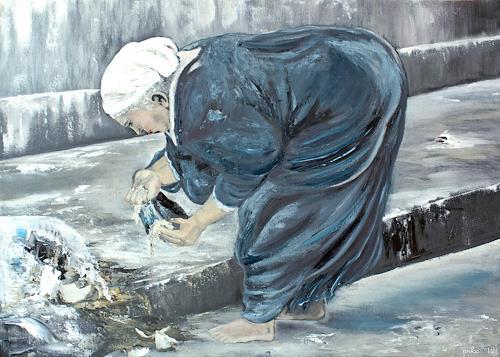 Anka Hubrich, Altersarmut, Menschen: Frau, Abstrakter Expressionismus