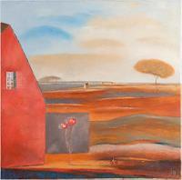 Kestutis-Jauniskis-Landschaft-Sommer-Moderne-Abstrakte-Kunst-Colour-Field-Painting