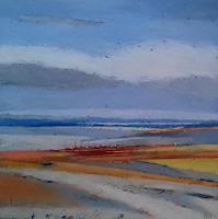 Kestutis-Jauniskis-Landschaft-Strand-Moderne-Abstrakte-Kunst