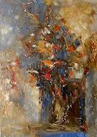 Kestutis-Jauniskis-Pflanzen-Blumen-Moderne-Abstrakte-Kunst-Action-Painting