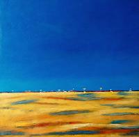 Kestutis-Jauniskis-Landschaft-Ebene-Moderne-Abstrakte-Kunst-Colour-Field-Painting